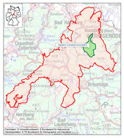 Map NP Harz